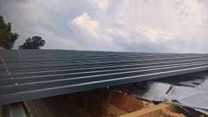Sheets on the trusses_7