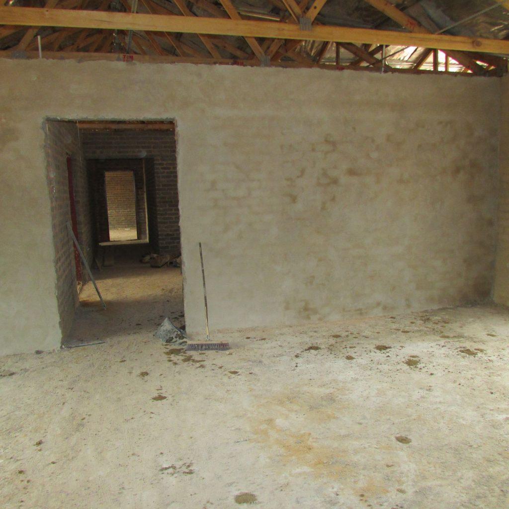 Inside wall plastering in progress_27