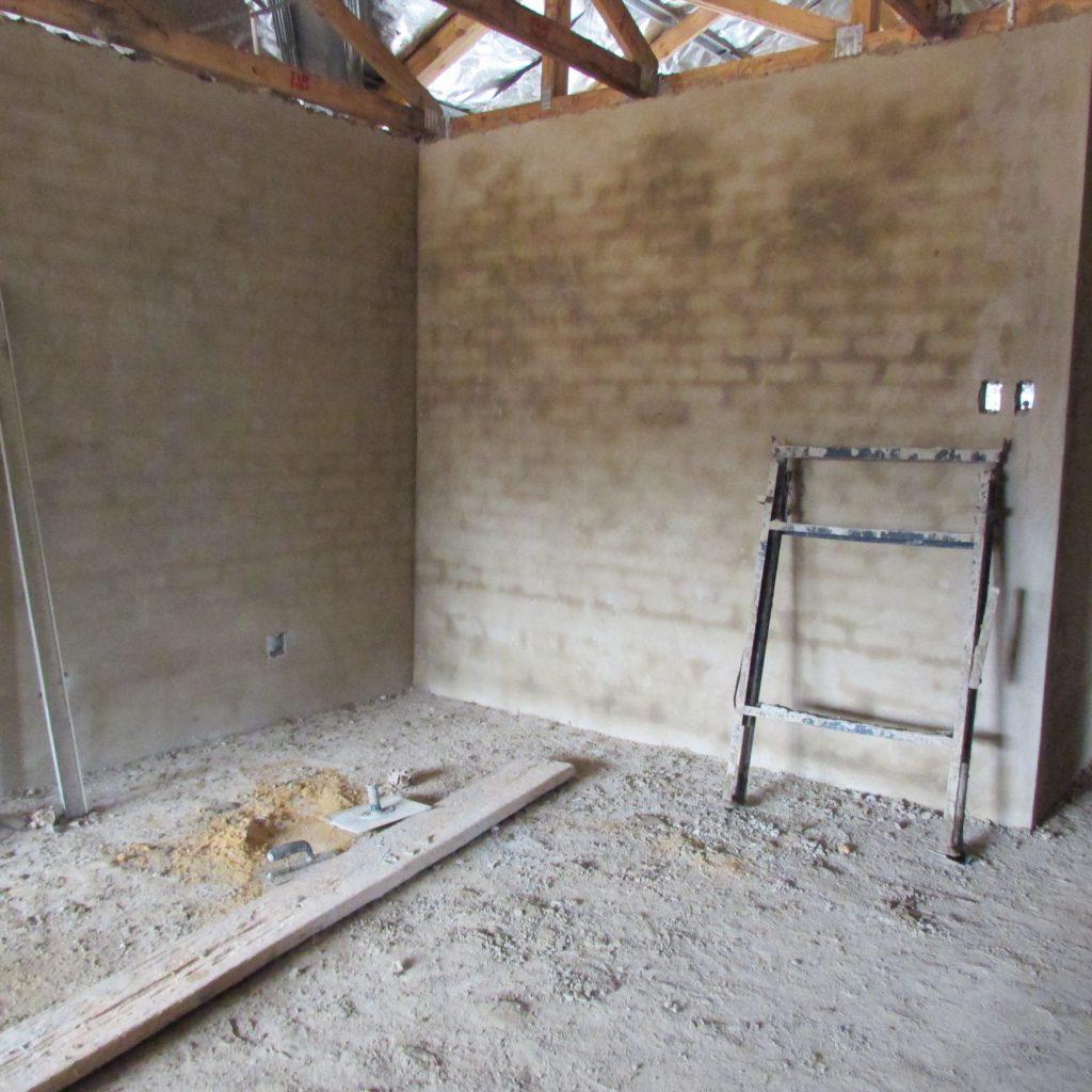 Inside wall plastering in progress_28