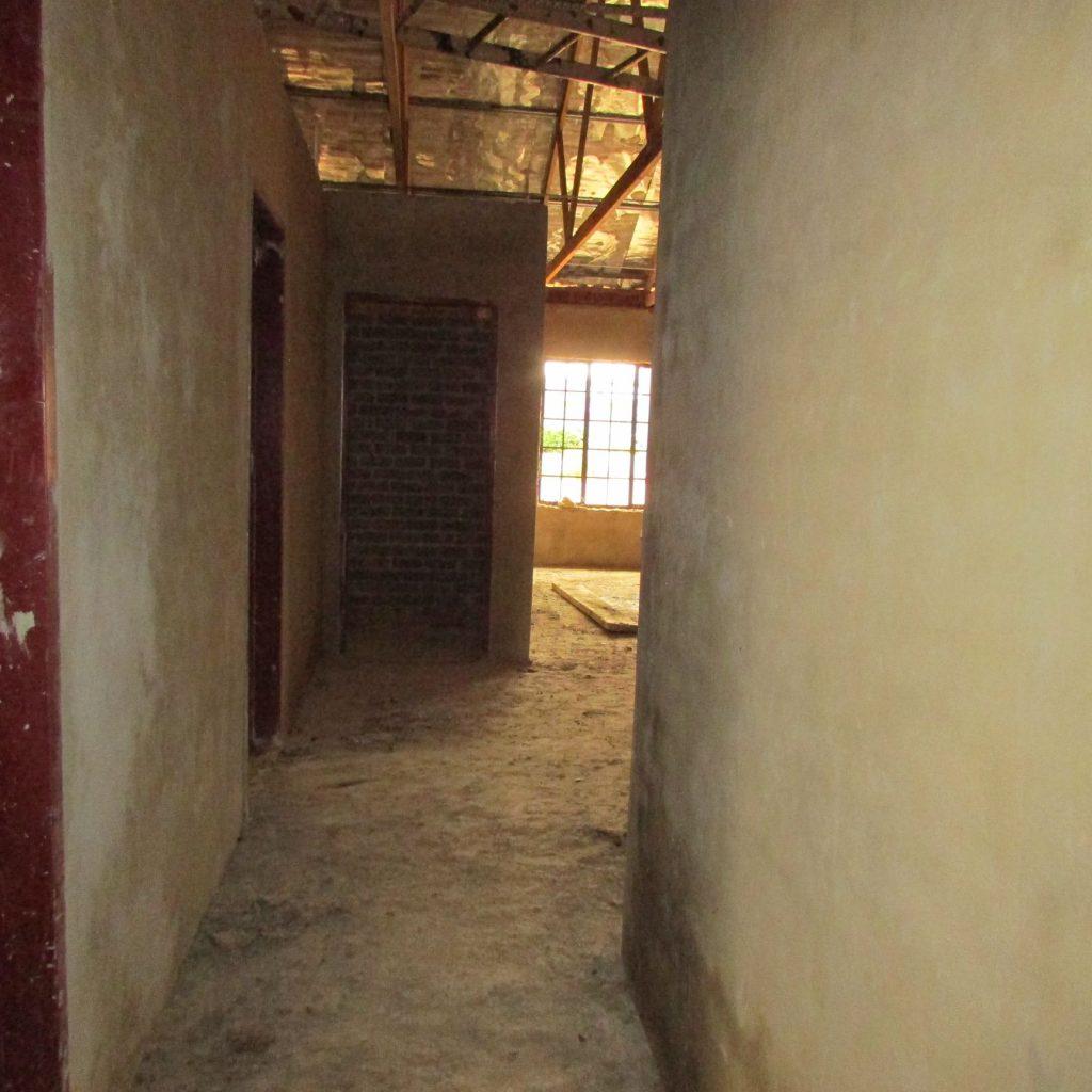 Inside wall plastering in progress_31
