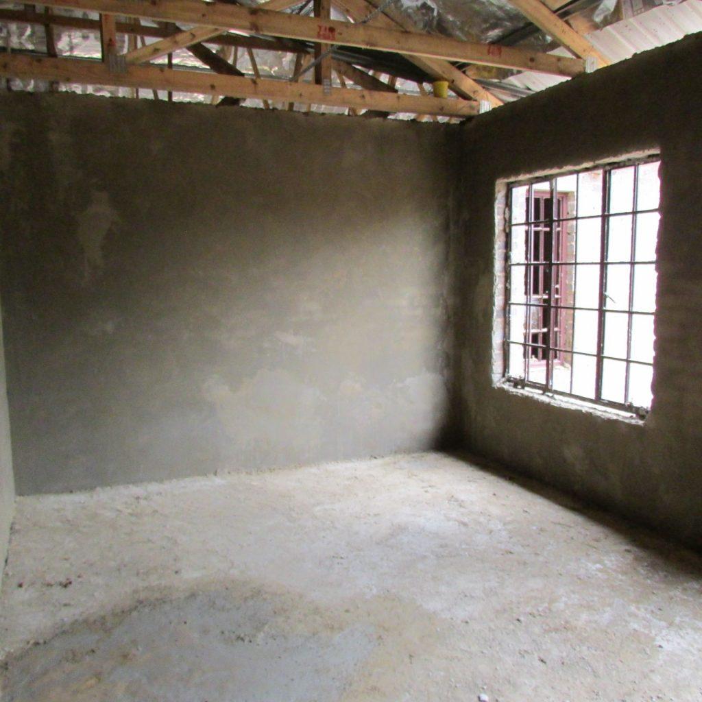 Inside wall plastering in progress_37