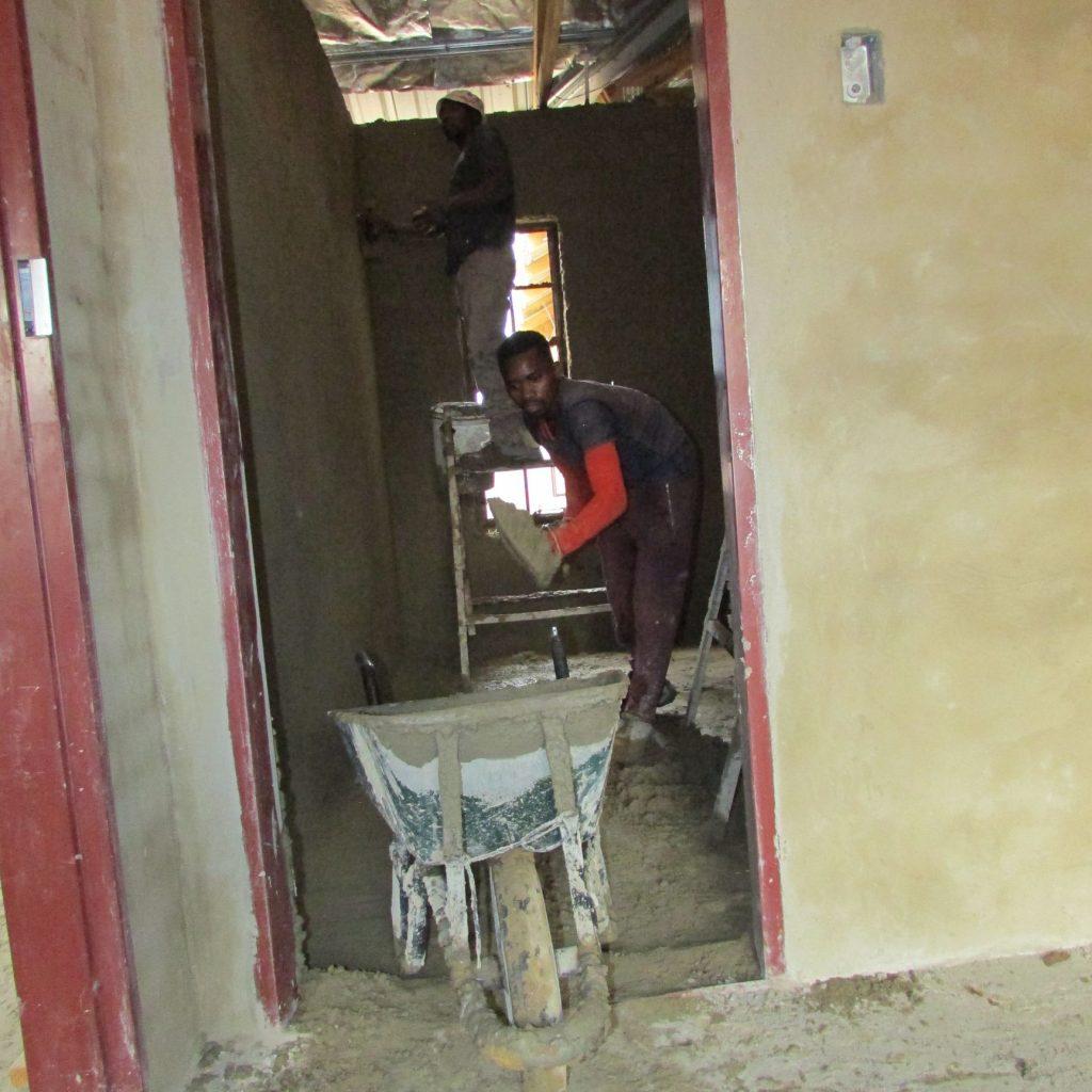 Inside wall plastering in progress_45