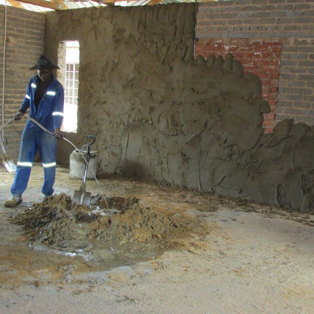 Inside wall plastering in progress_47