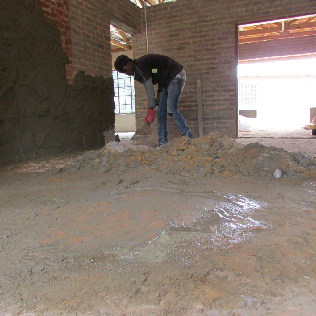 Inside wall plastering in progress_52