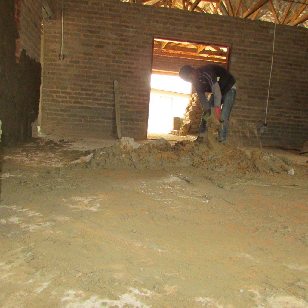 Inside wall plastering in progress_54