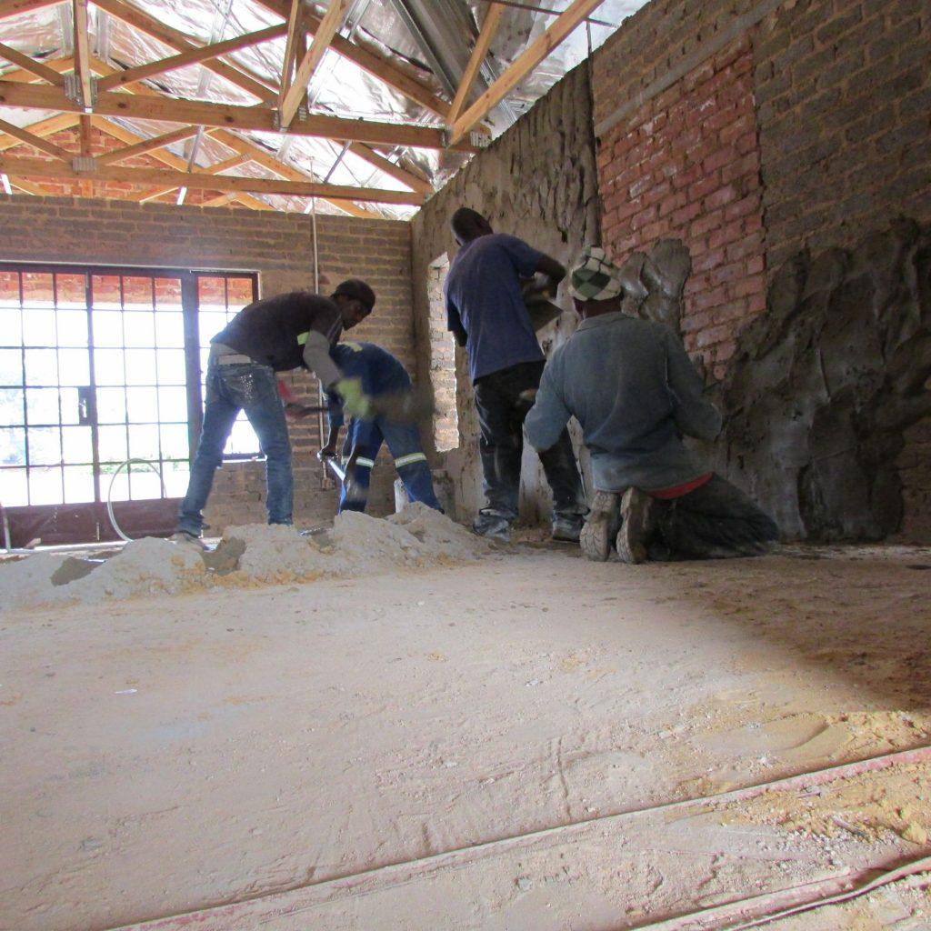 Inside wall plastering in progress_59