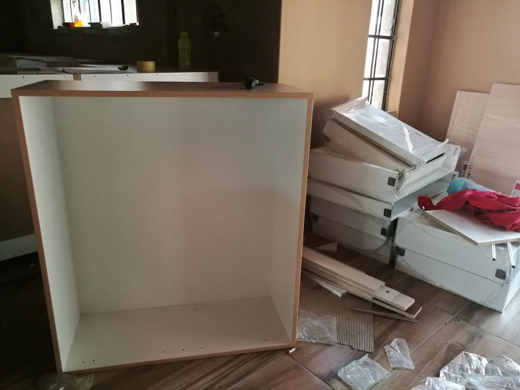 Kitchen installation progress_1