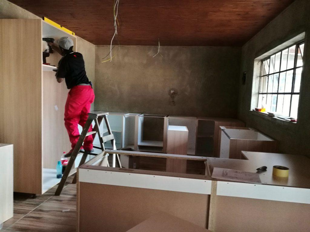 Kitchen installation progress_3