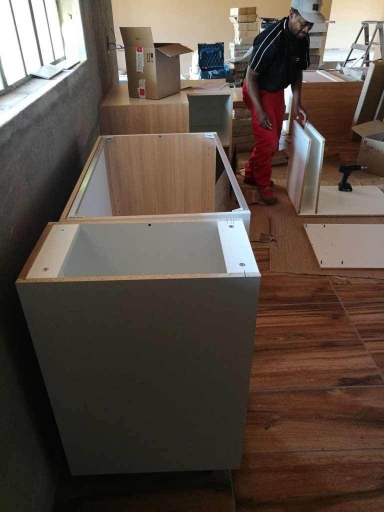 Kitchen installation progress_46