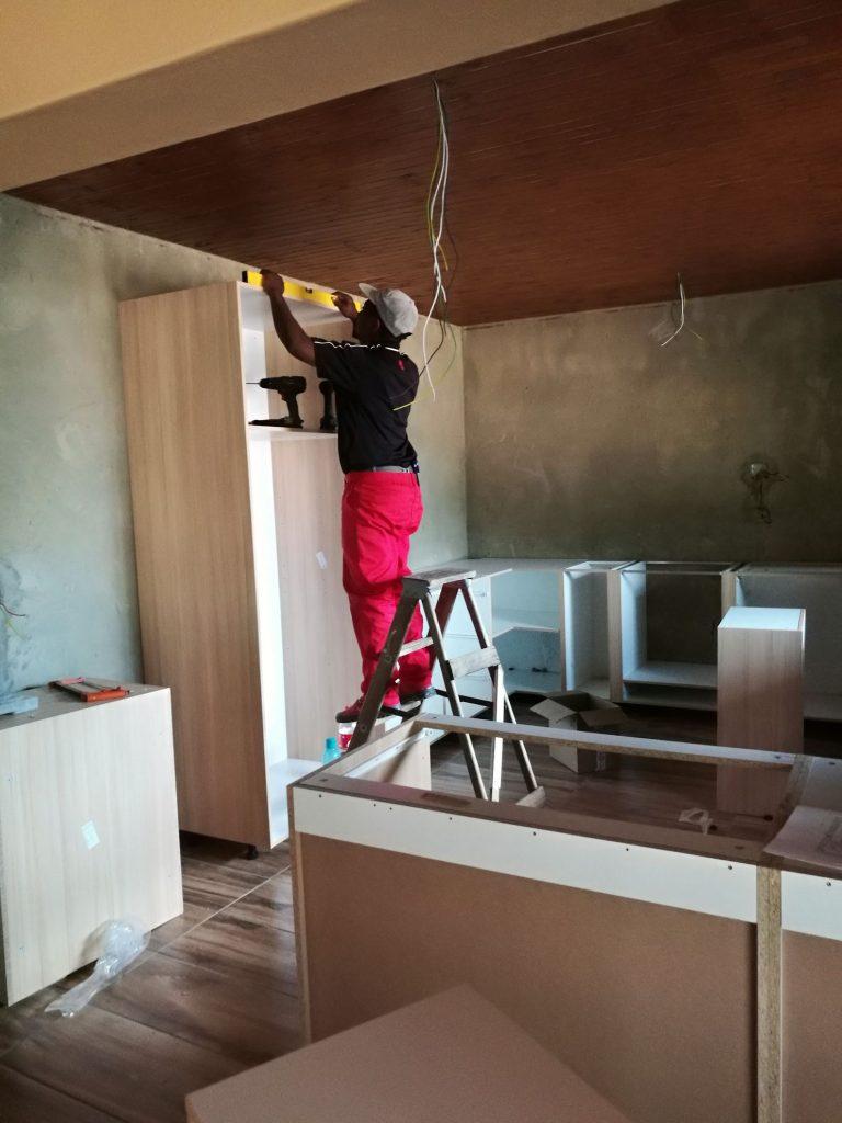 Kitchen installation progress_5