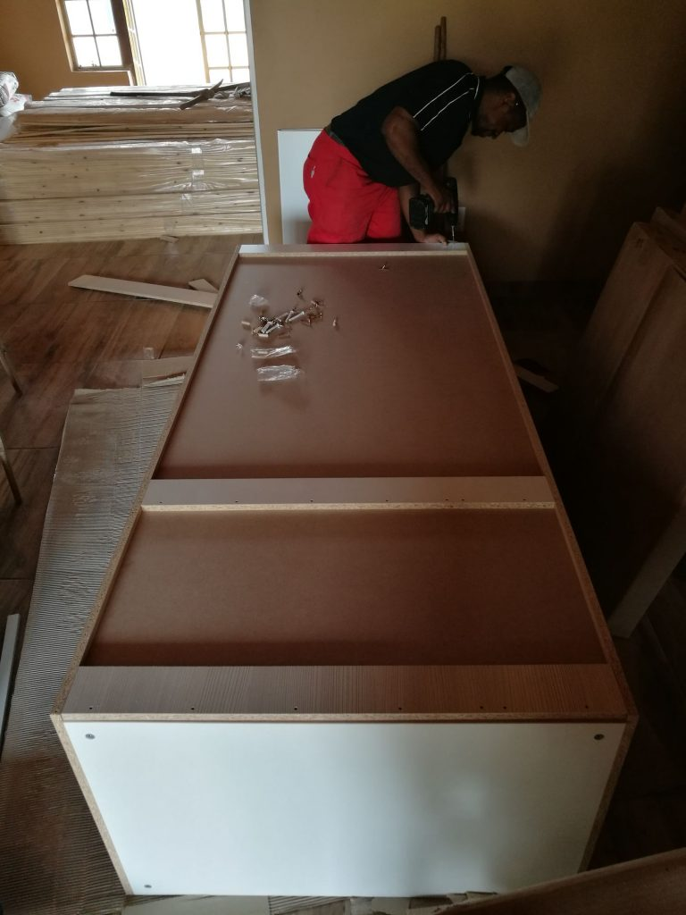 Kitchen installation progress_61