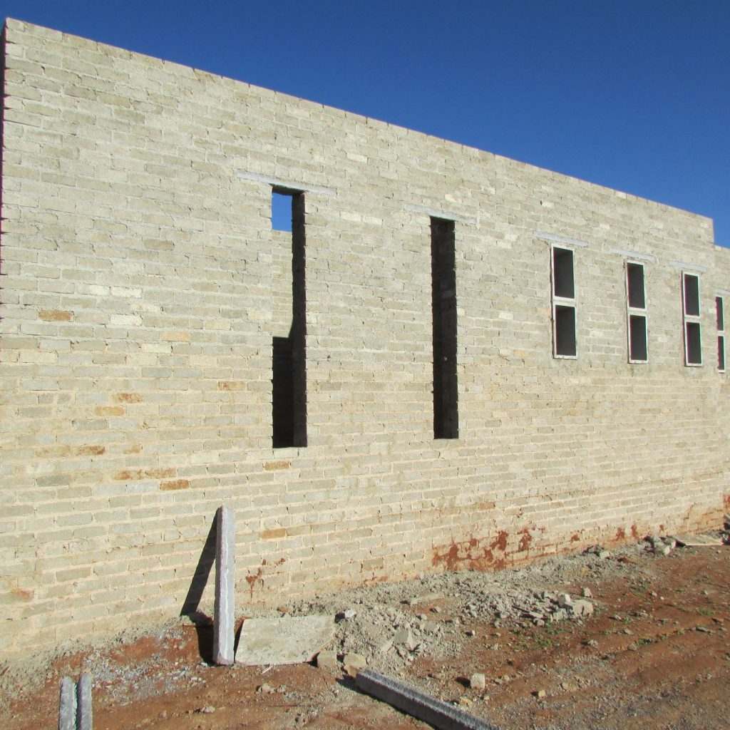 Completed brick work _101