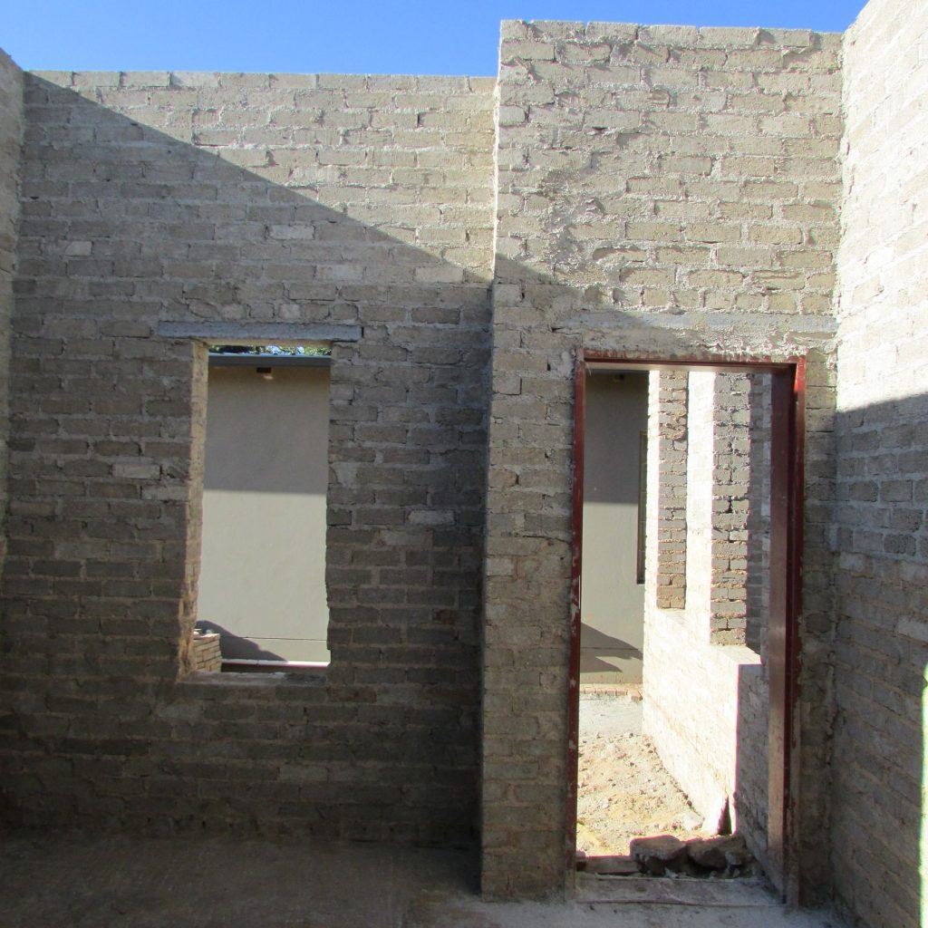 Completed brick work _103