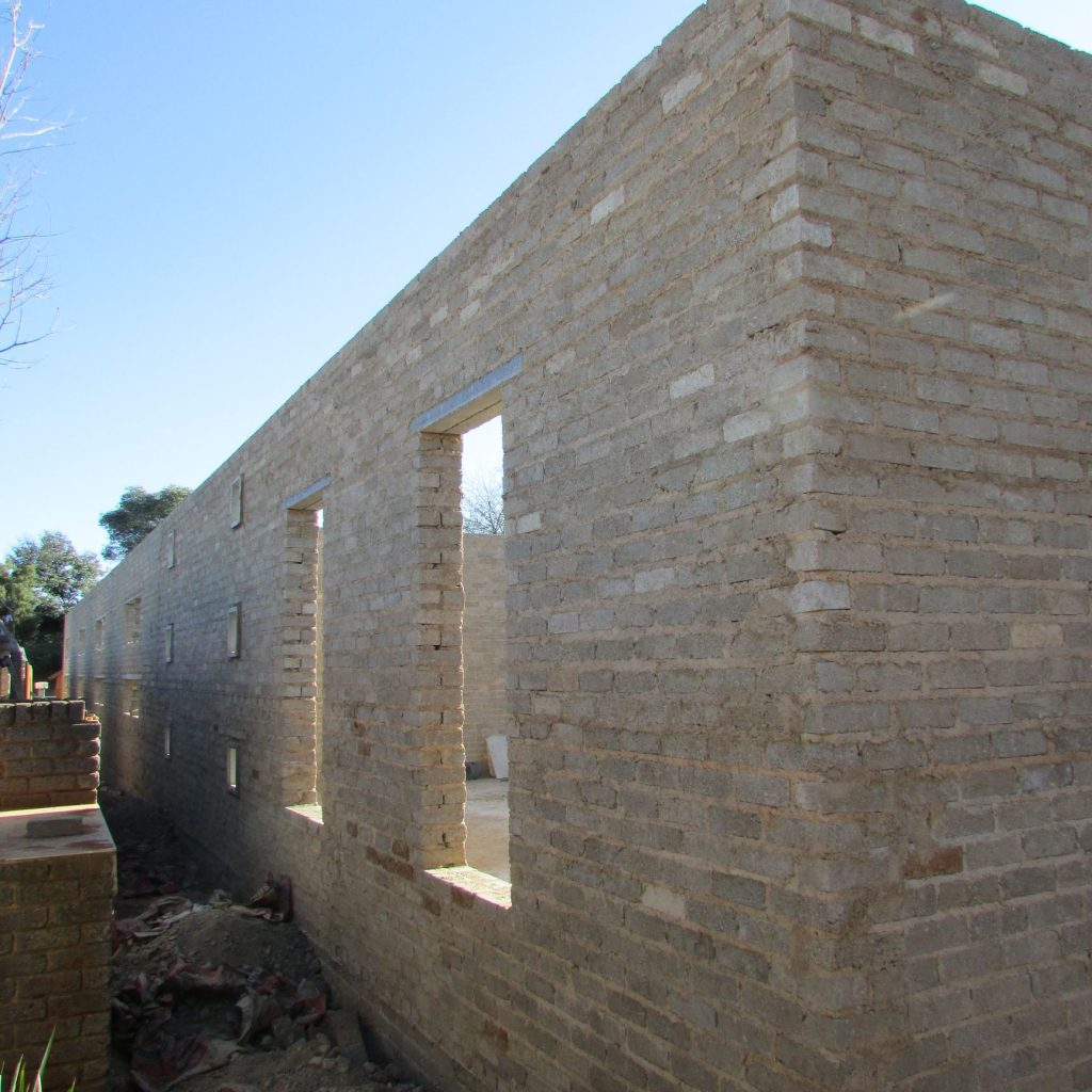 Completed brick work _105