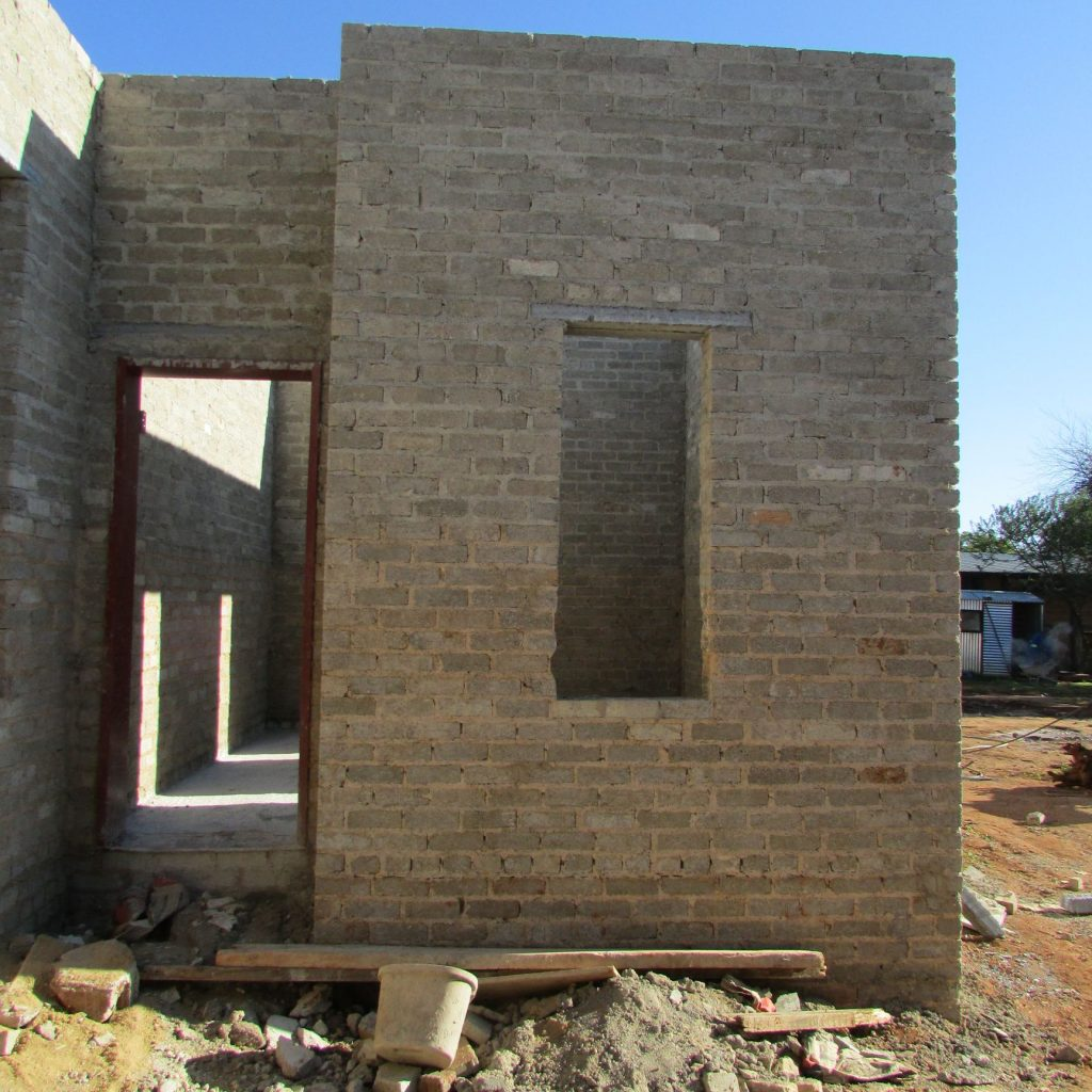 Completed brick work _109