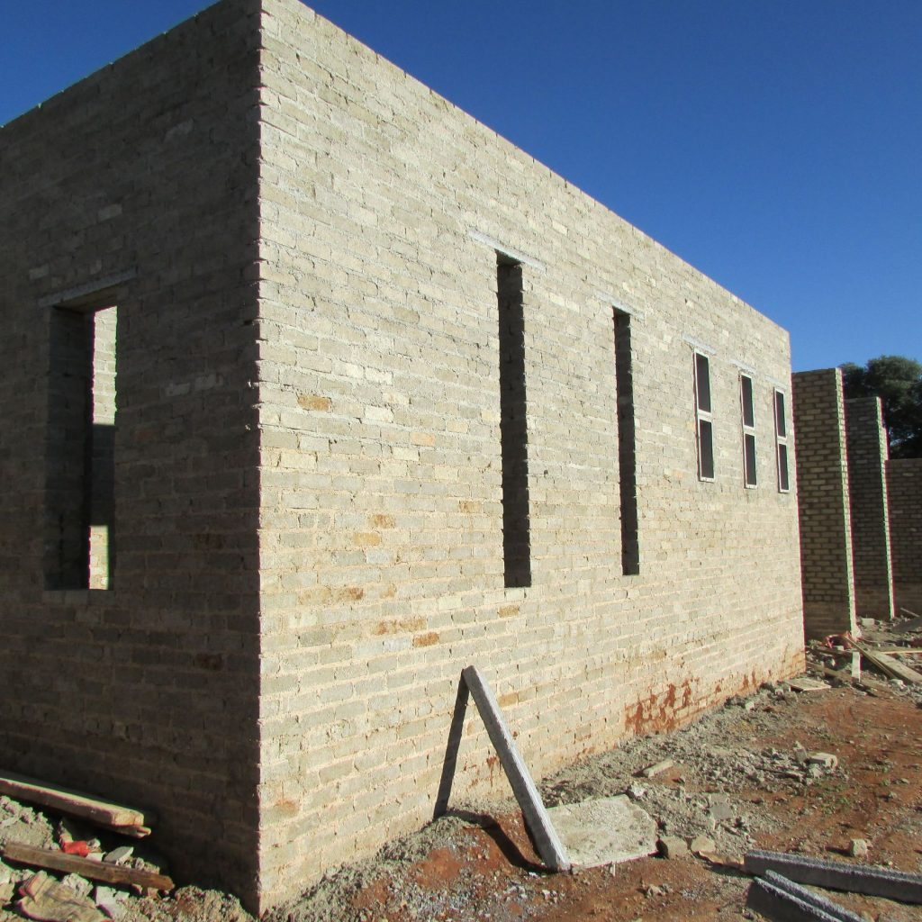 Completed brick work _110