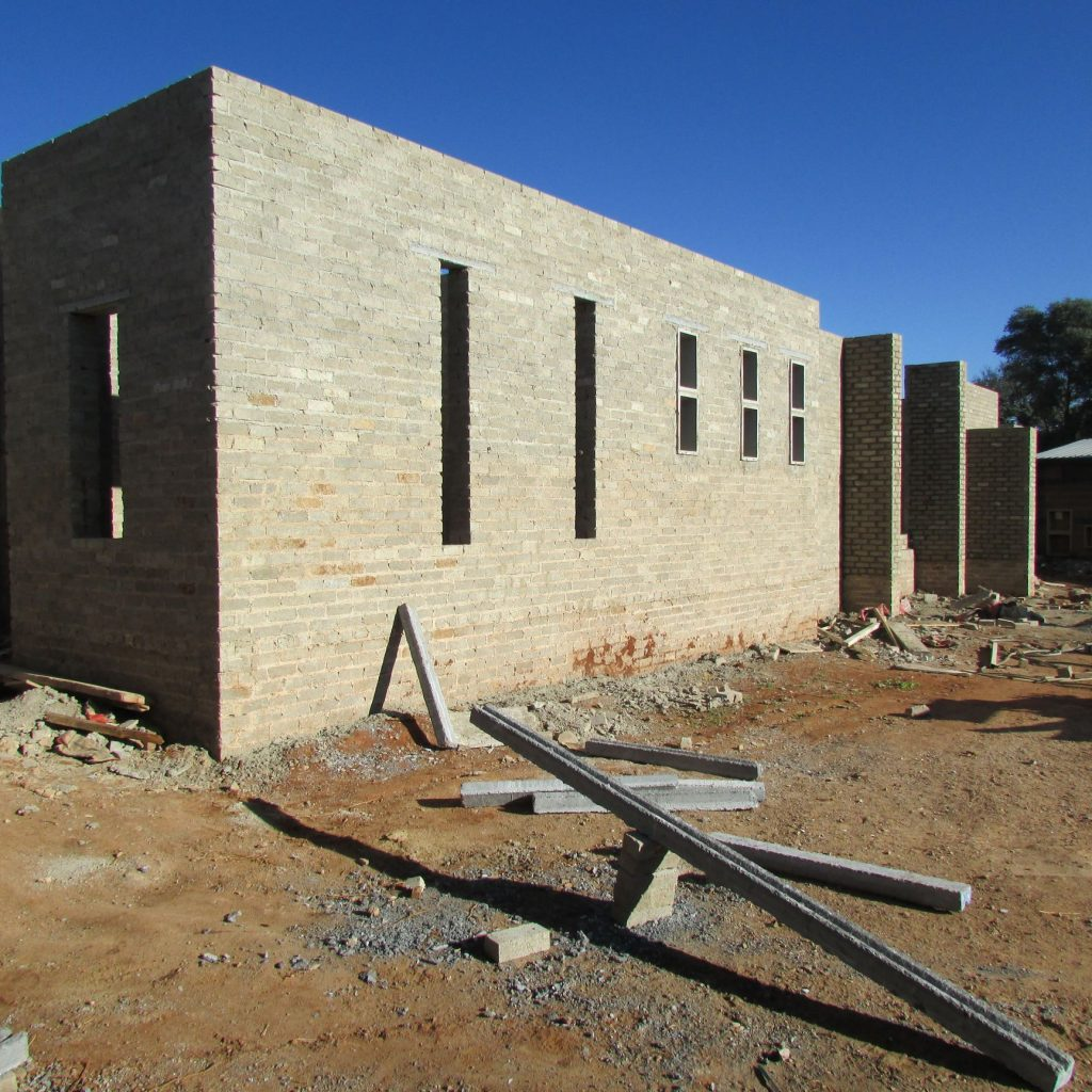 Completed brick work _112