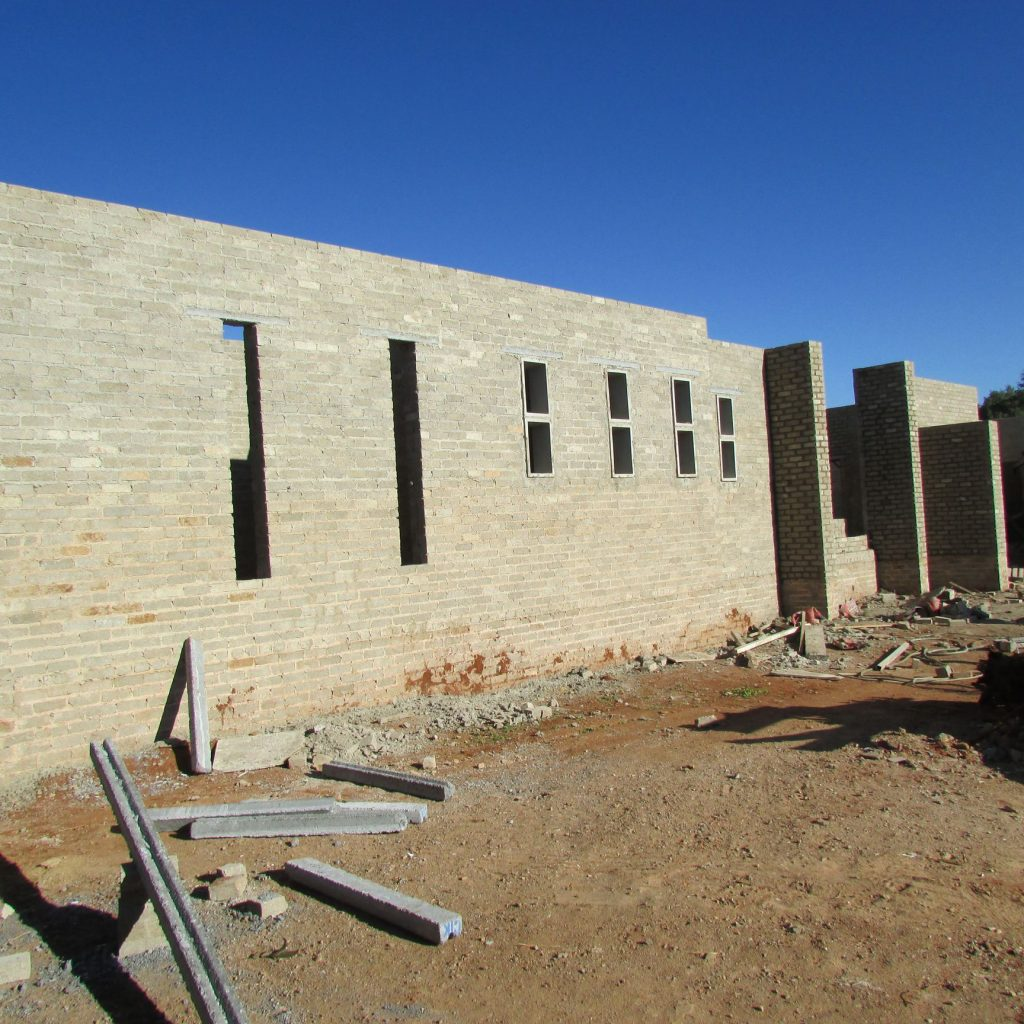 Completed brick work _114