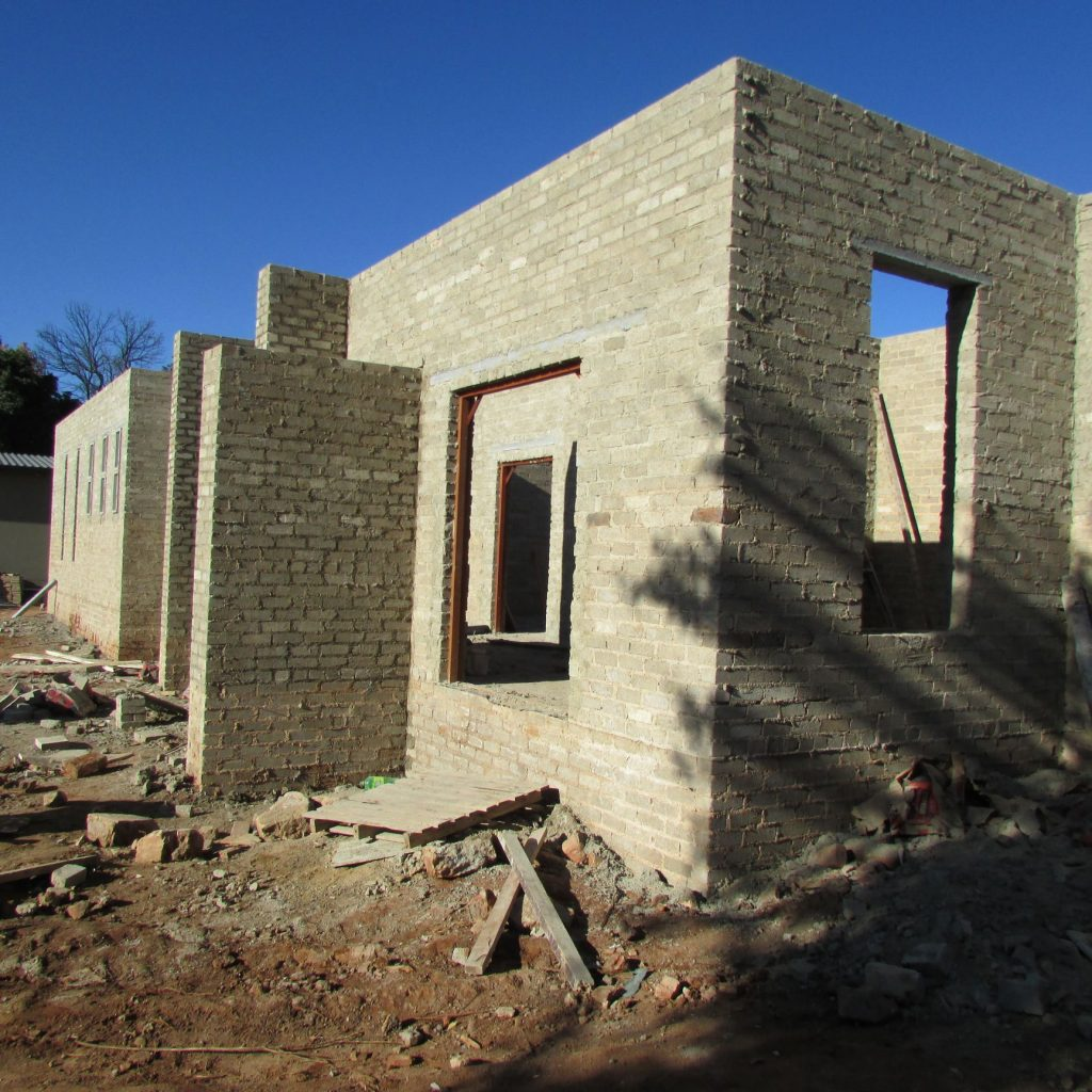 Completed brick work _116