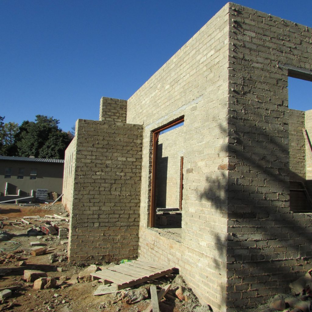 Completed brick work _117