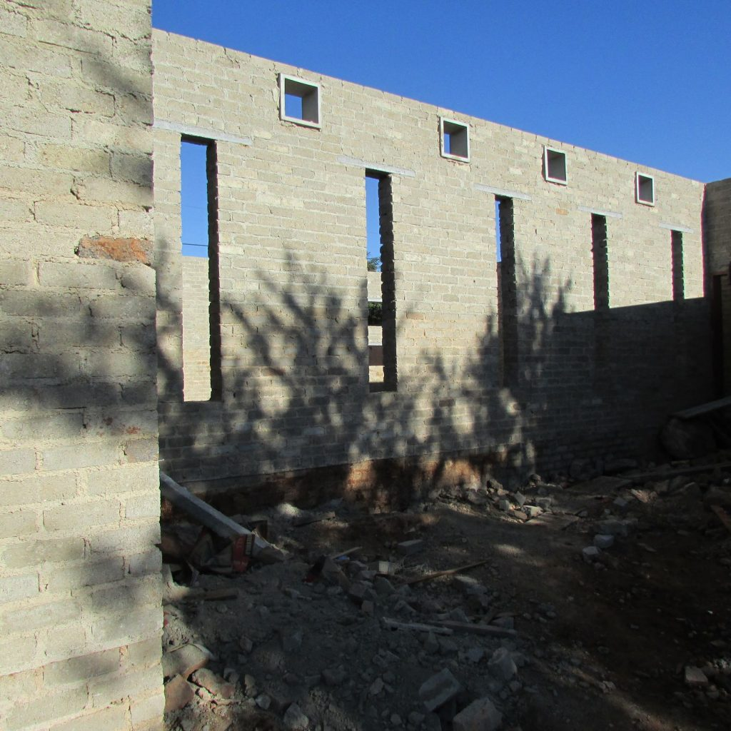 Completed brick work _118