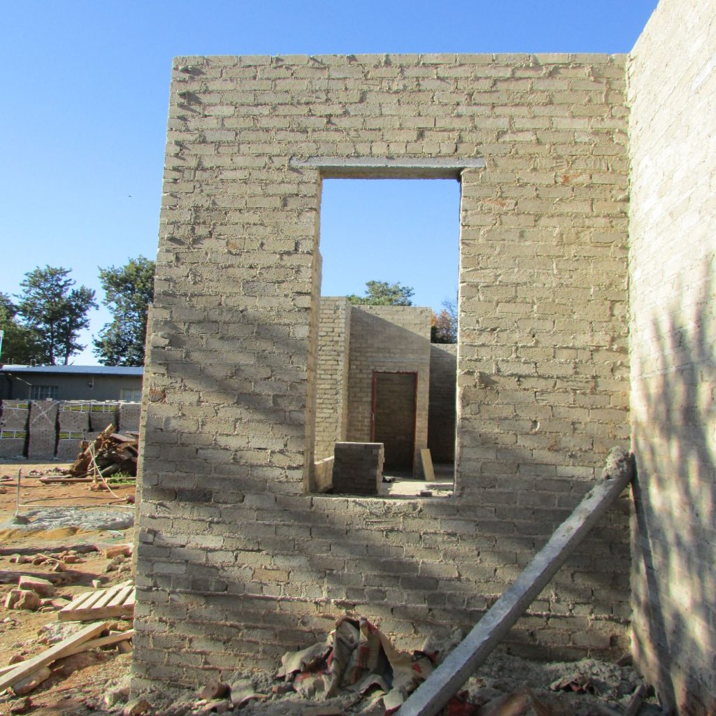 Completed brick work _120