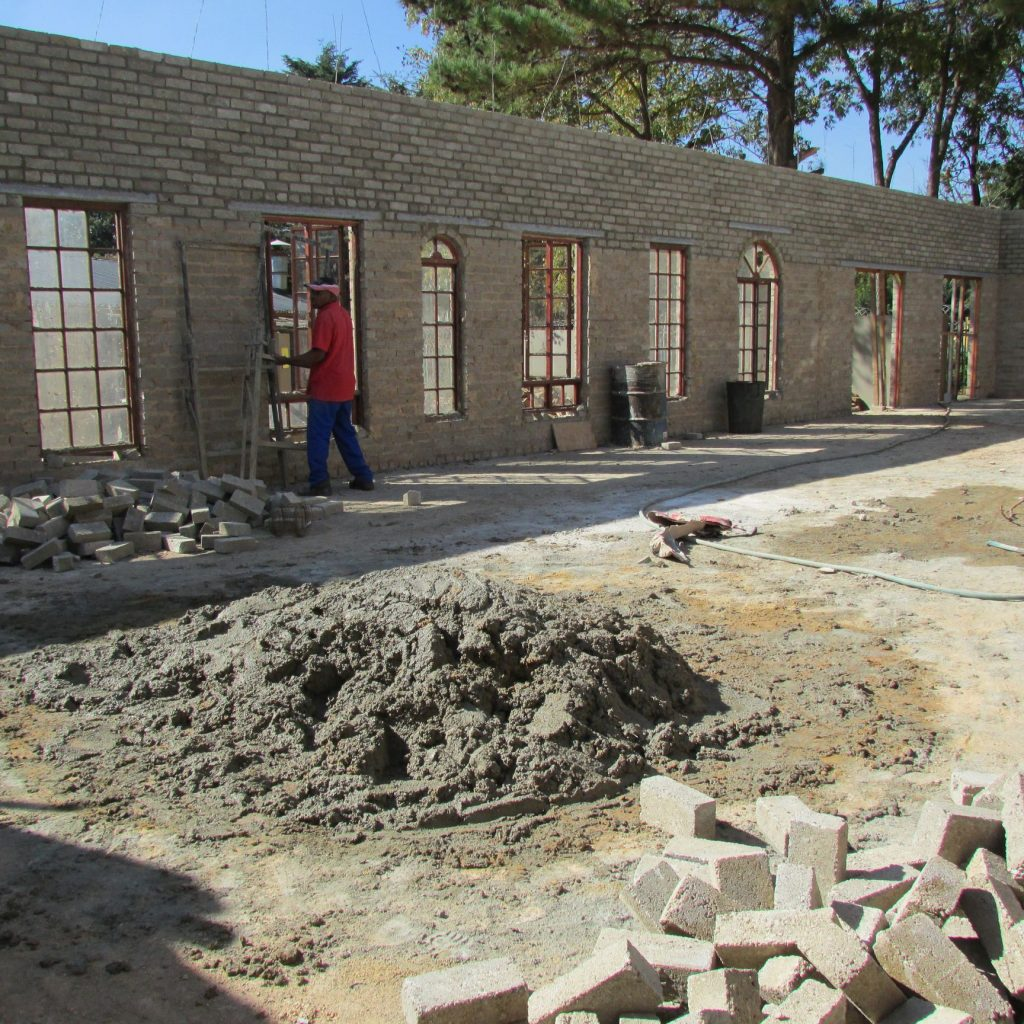 Completed brick work _34