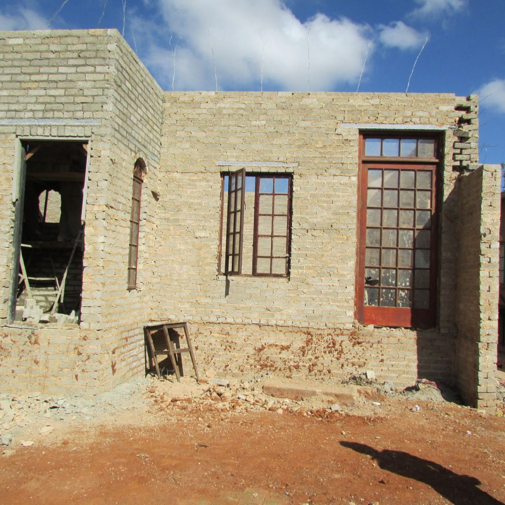 Completed brick work _44