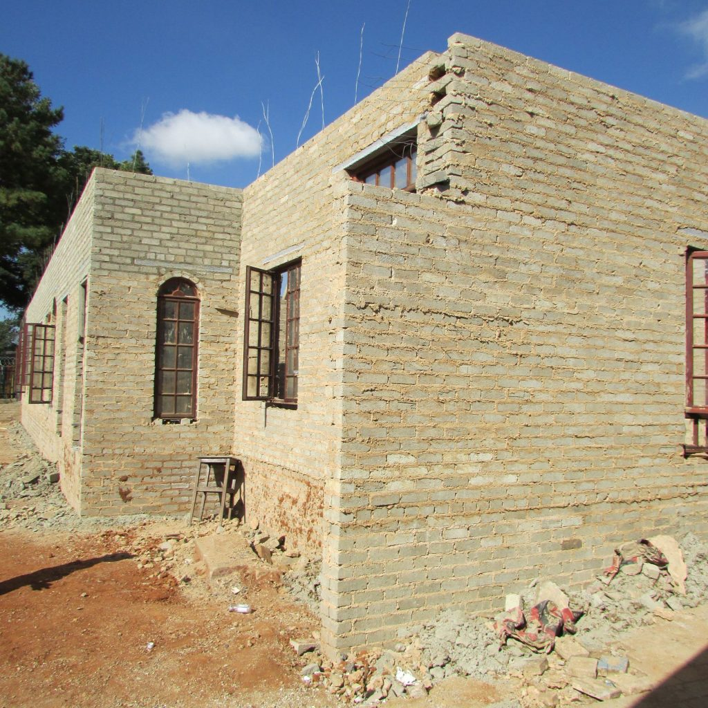 Completed brick work _49