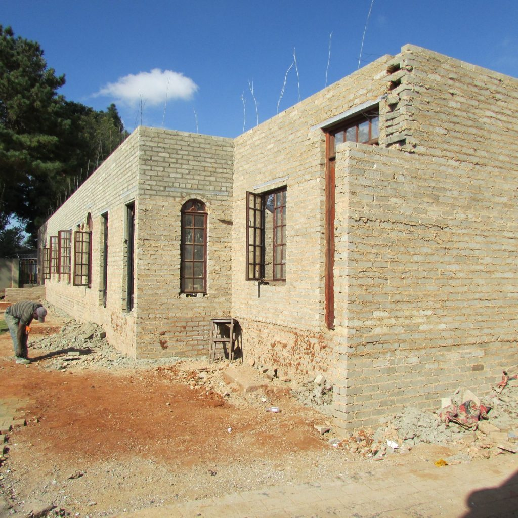 Completed brick work _50