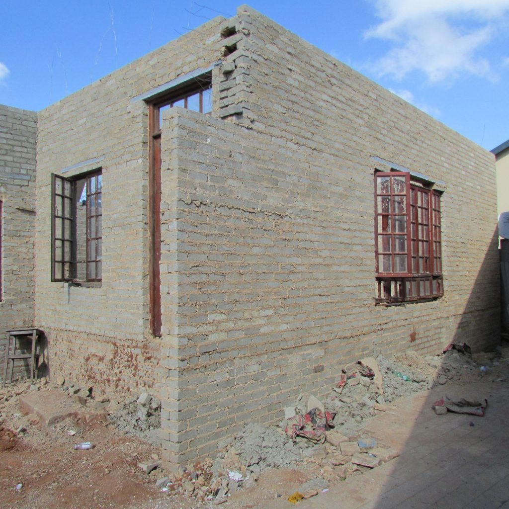 Completed brick work _51