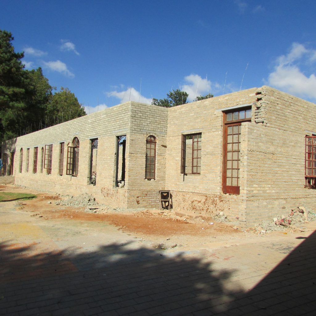 Completed brick work _55