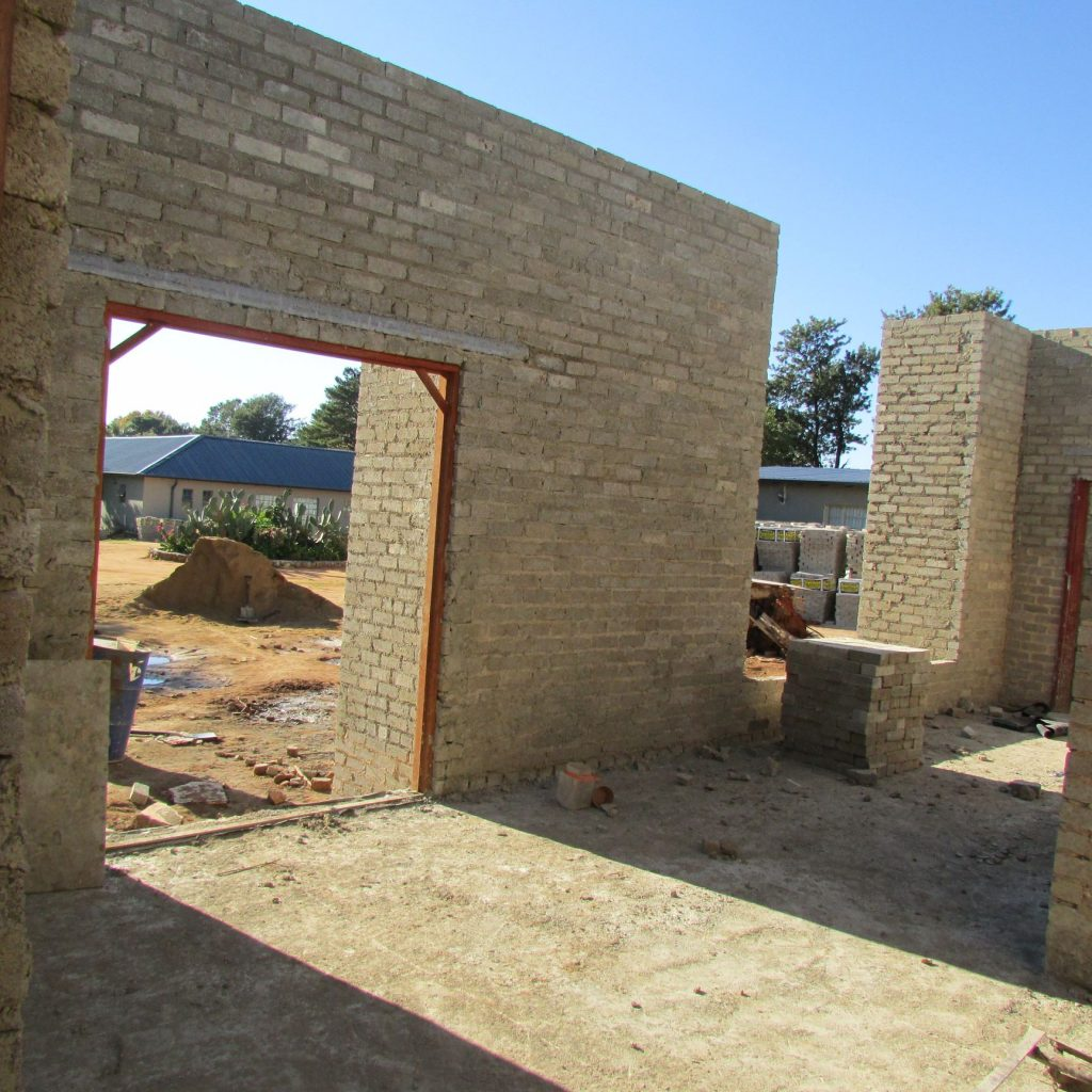 Completed brick work _63