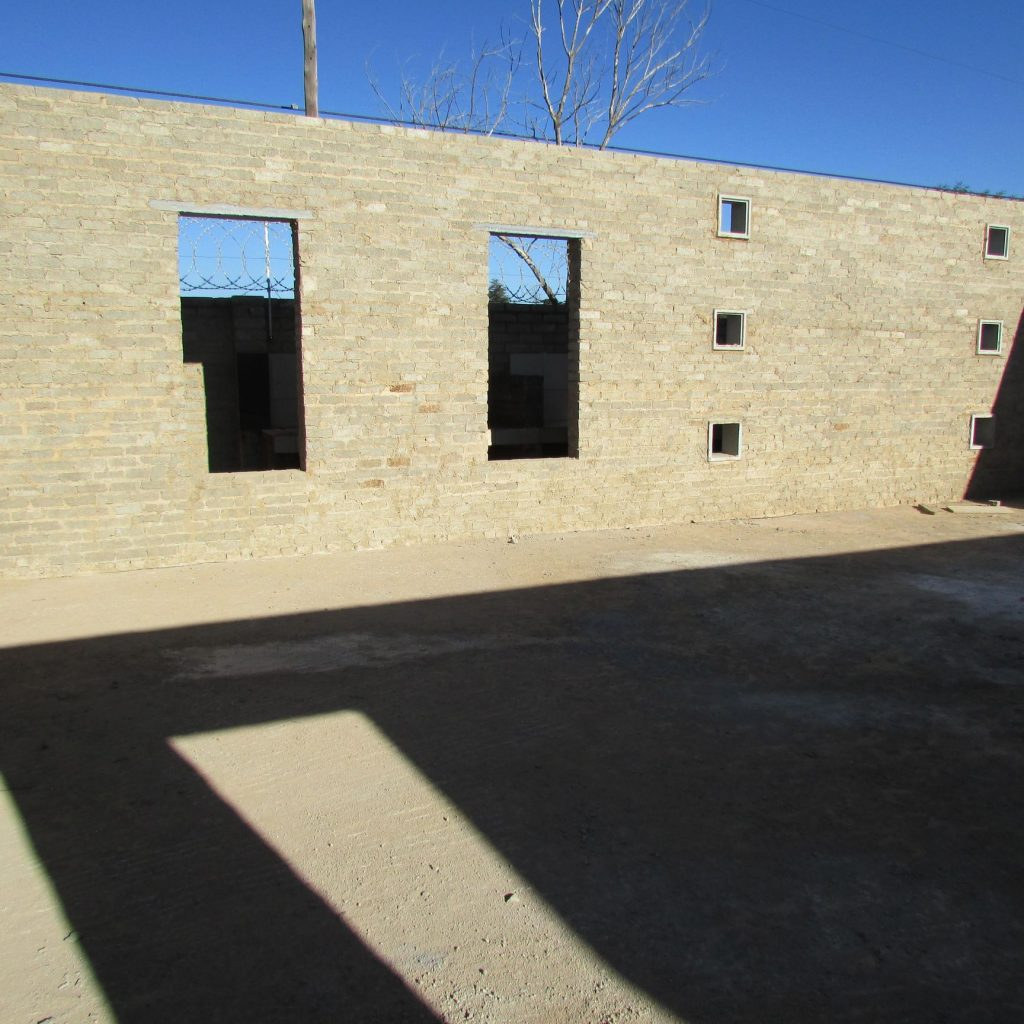 Completed brick work _70