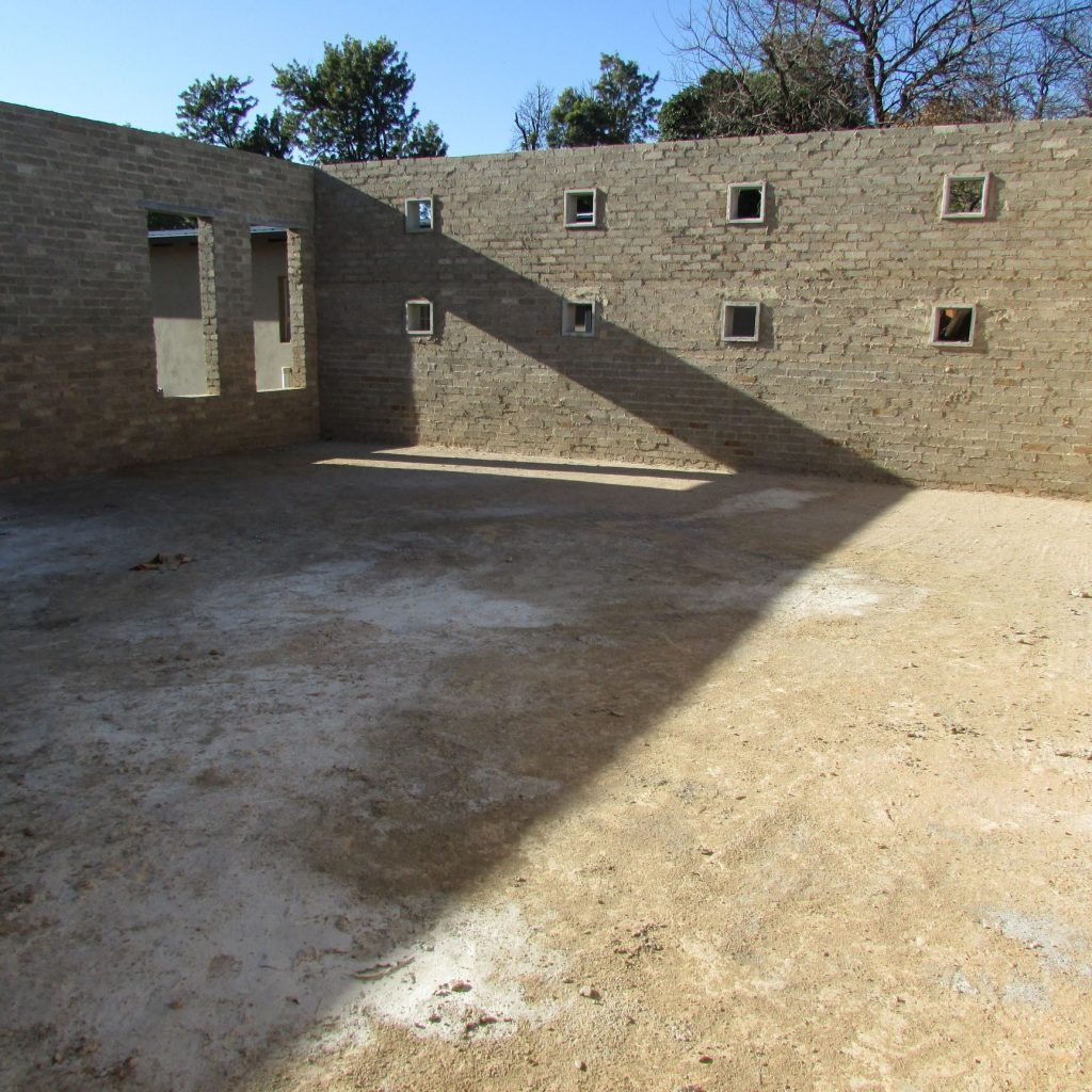 Completed brick work _76