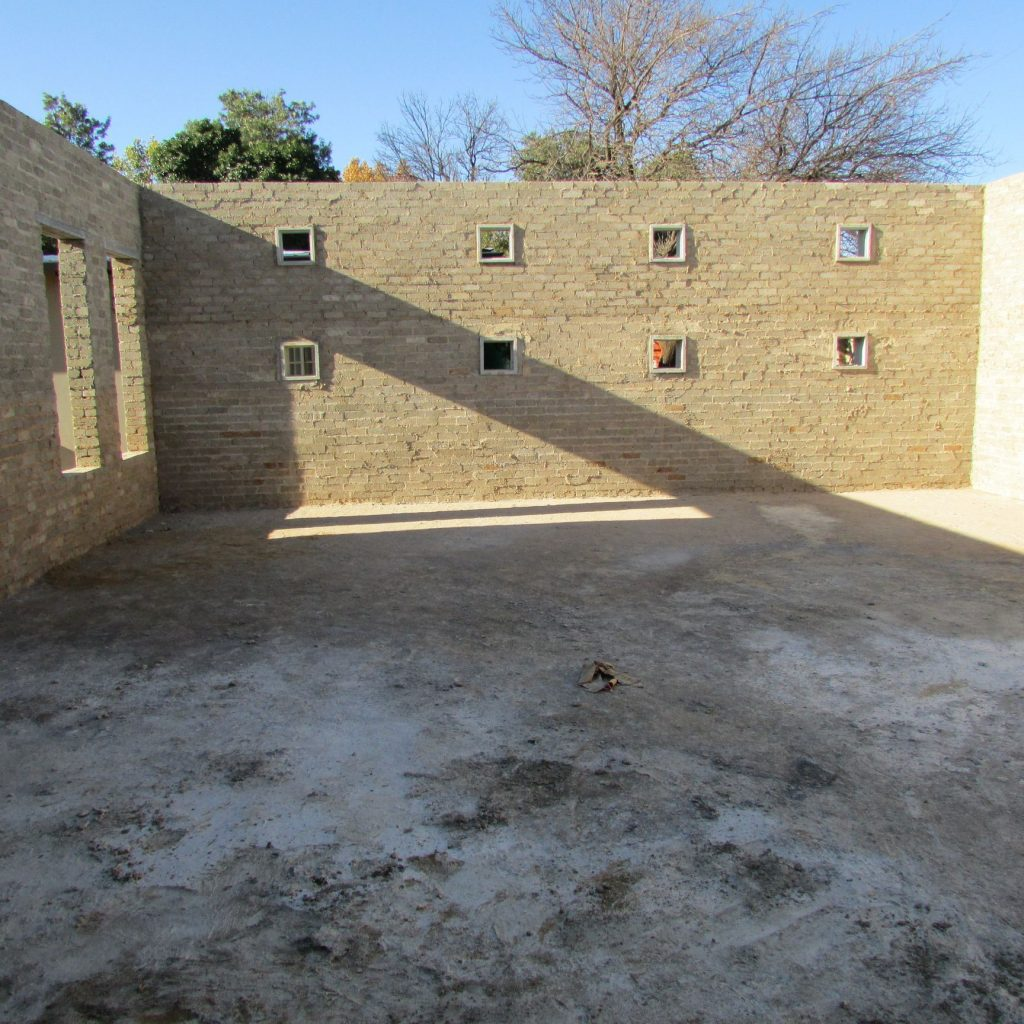 Completed brick work _77