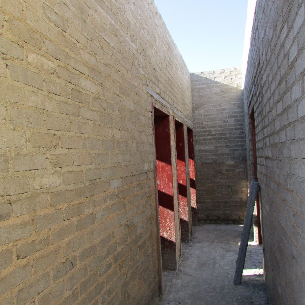 Completed brick work _83