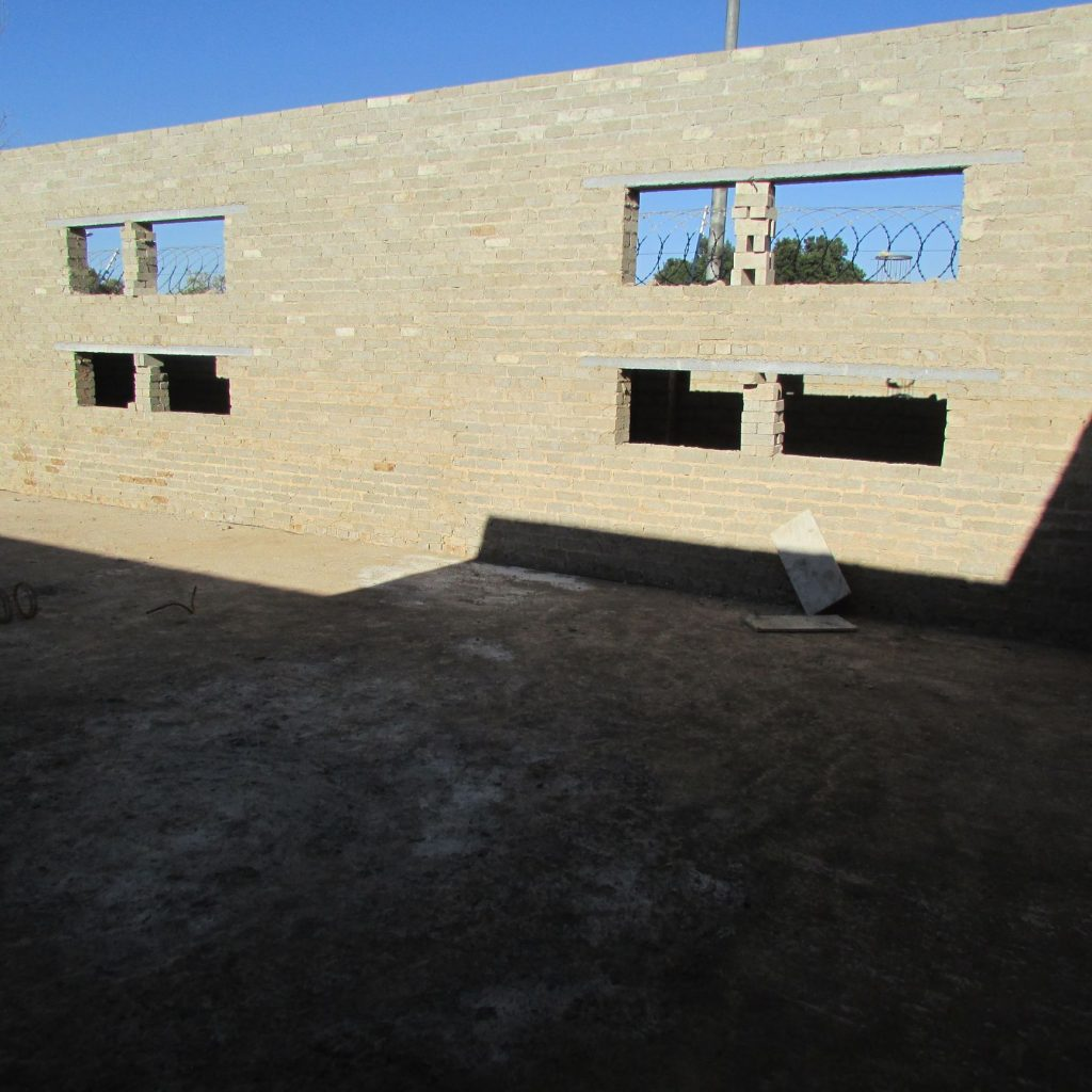 Completed brick work _88