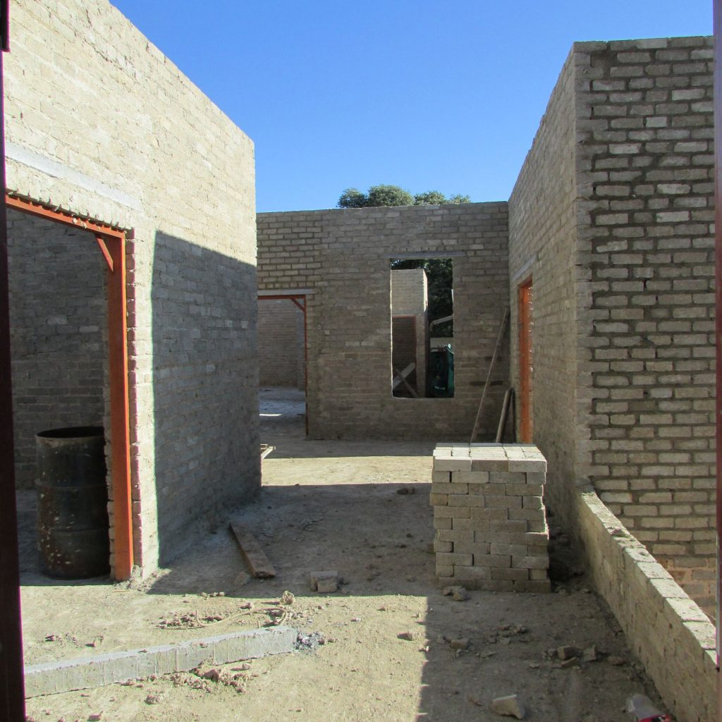 Completed brick work _93