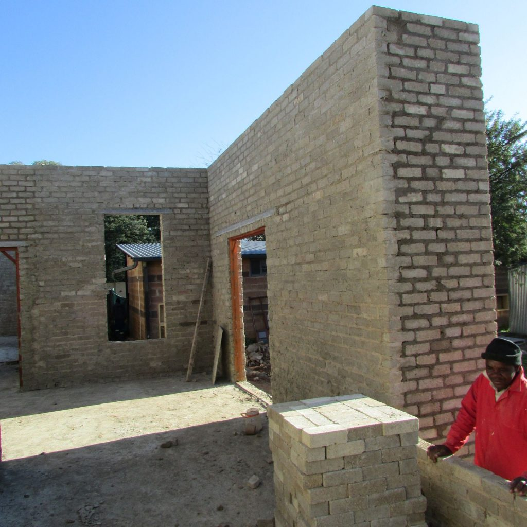 Completed brick work _94