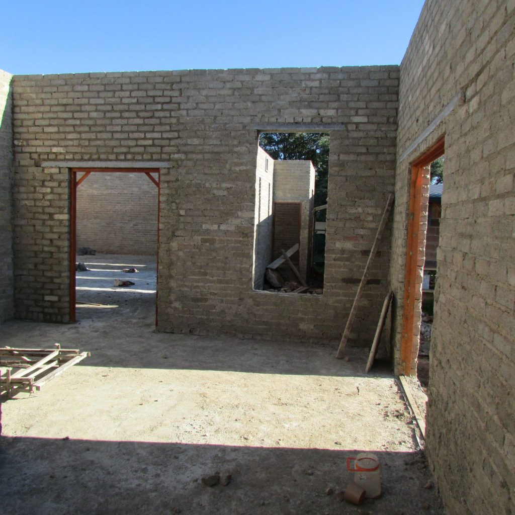 Completed brick work _95
