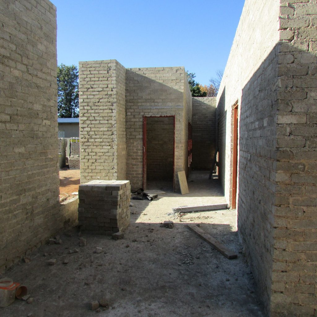 Completed brick work _96