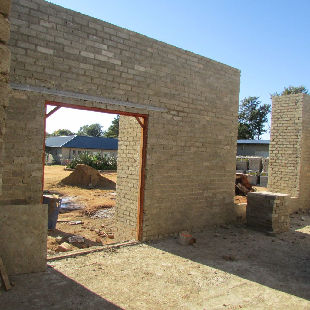 Completed brick work _97