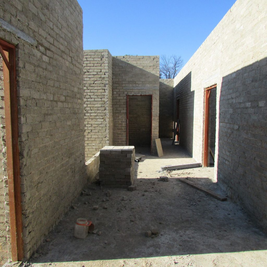 Completed brick work _98