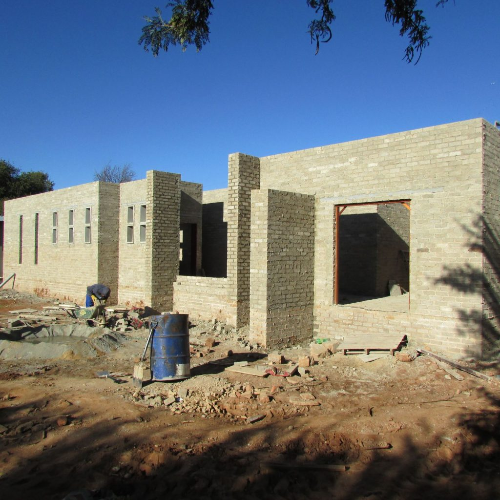 Completed brick work _99