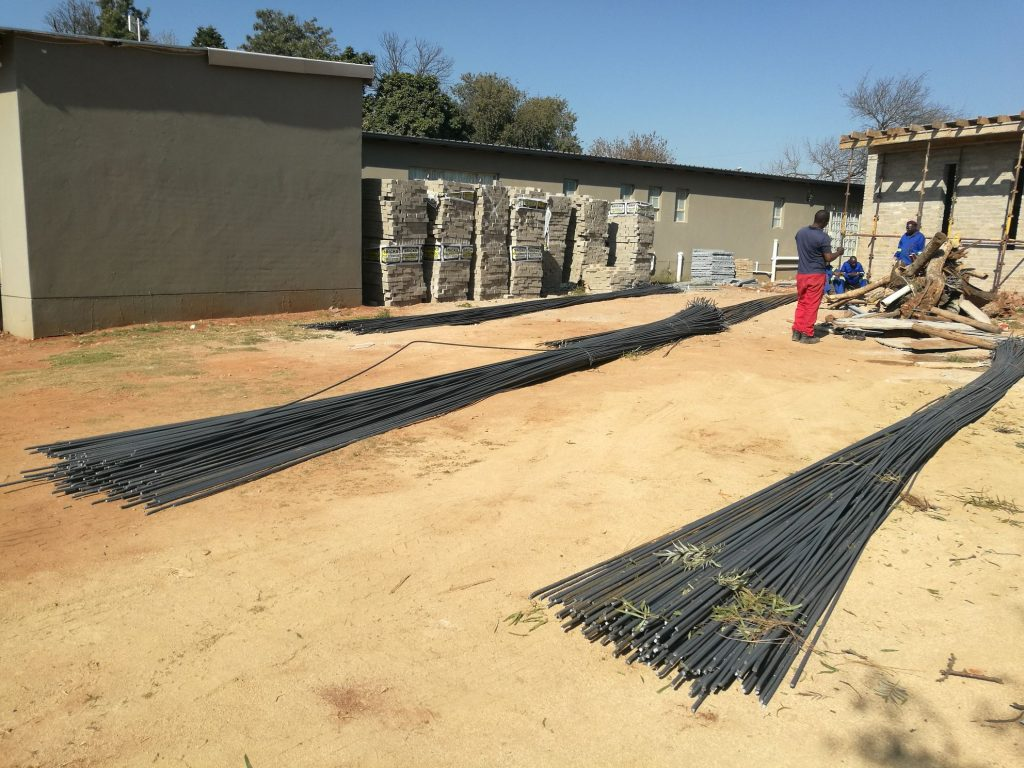 Reinforcing the slab_154