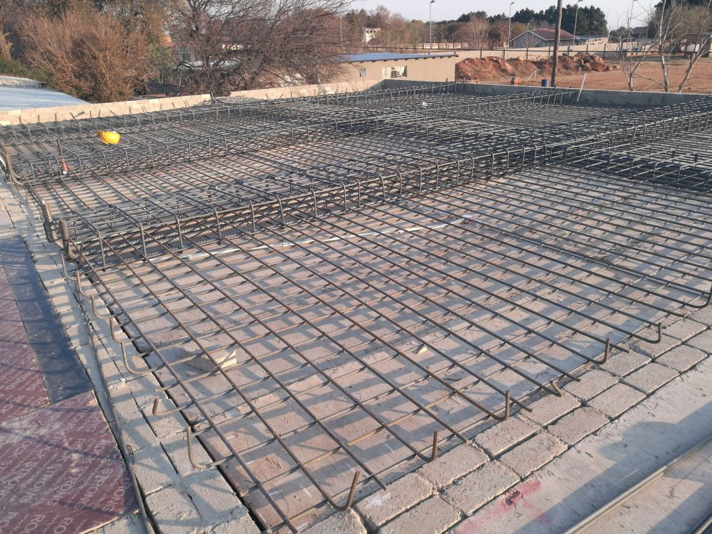 Reinforcing the slab_5