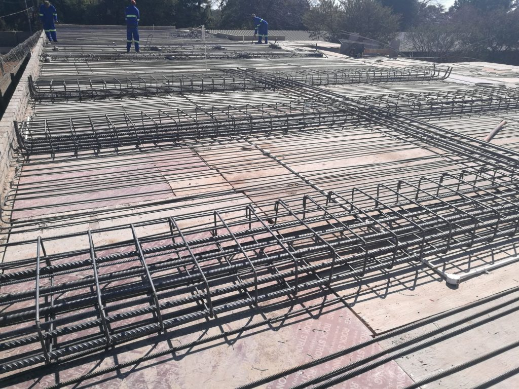 Reinforcing the slab_53