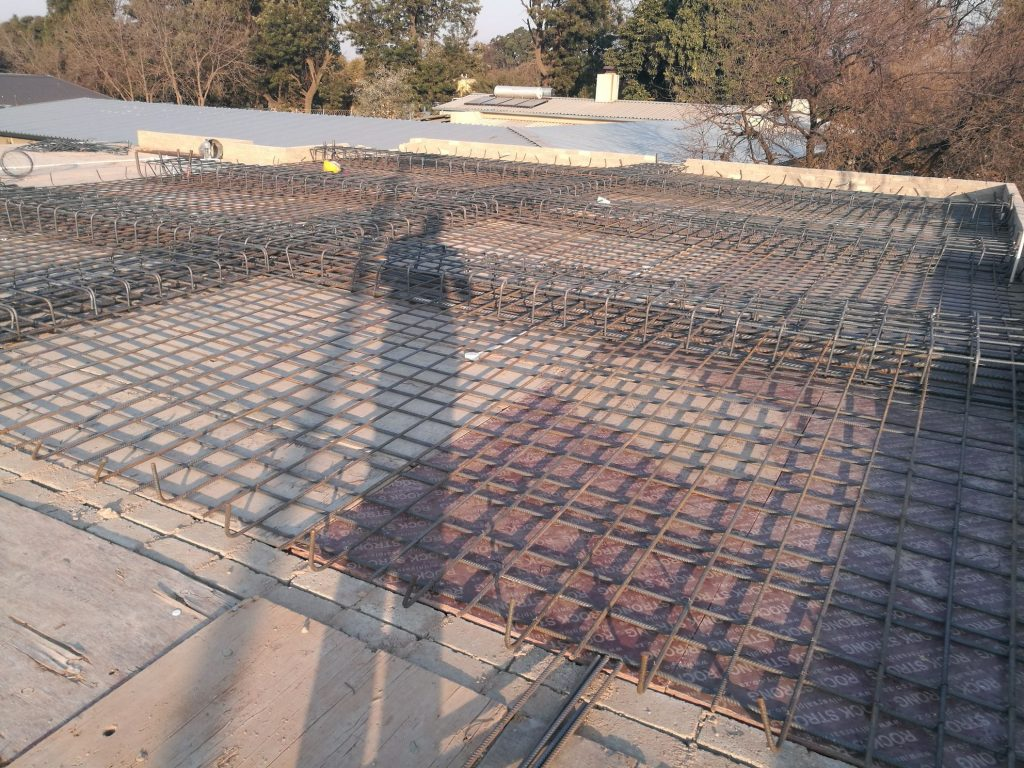 Reinforcing the slab_6