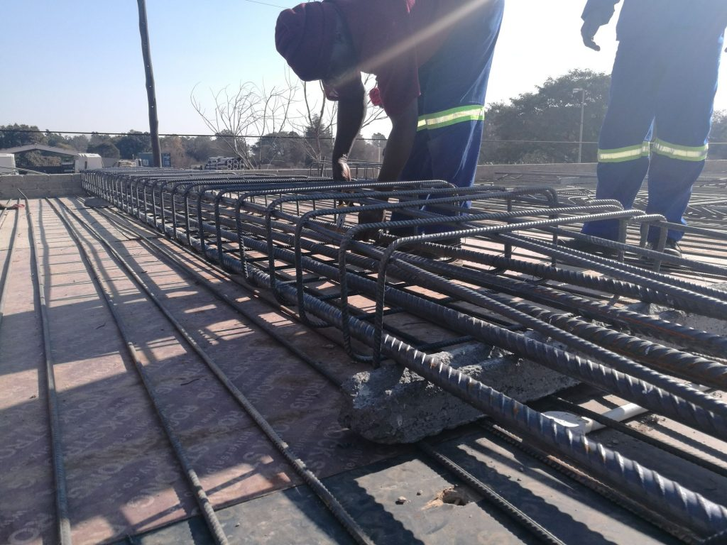 Reinforcing the slab_60